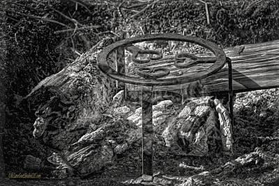 Heart Photograph - Civil War Campfire Hearts On Fire by LeeAnn McLaneGoetz McLaneGoetzStudioLLCcom