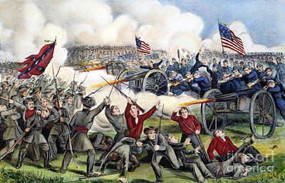 Civil War: Gettysburg, 1863 Print by Granger