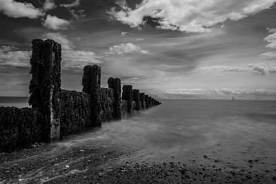 Essex Photograph - Clacton Beach by Martin Newman