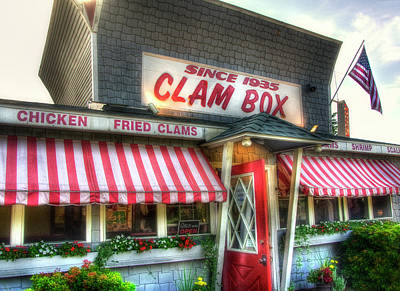 Fish Shacks Photograph - Clam Box Restaurant - Ipswich Ma by Joann Vitali