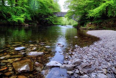 Stone Bridge Photograph - Clappersgate - Lake District by Joana Kruse