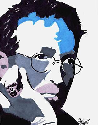 Eric Clapton Drawing - Clapton by Sam Barrese