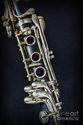 Clarinet Print by Paul Ward