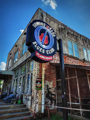 Clarksdale - Ground Zero Blues Club 001 Print by Lance Vaughn