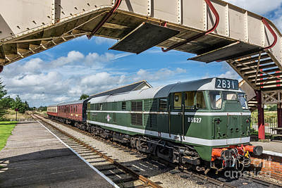 Photograph - Class 31 Diesel 1 by Steve Purnell