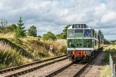 Photograph - Class 31 Diesel 4 by Steve Purnell