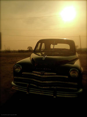 The Main Photograph - Classic America, Eight by Iconic Images Art Gallery David Pucciarelli