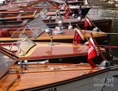 Classic Boats Print by Neil Zimmerman