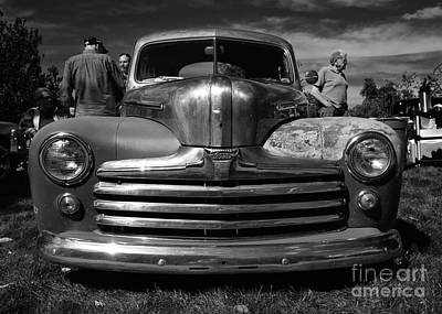 Classic Cars - Ford Front End Print by Jason Freedman