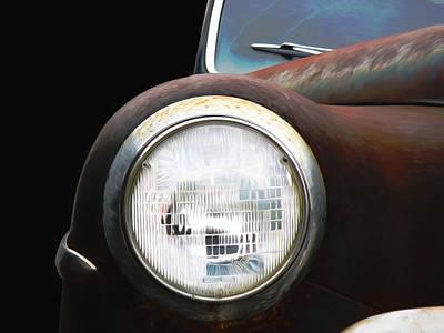 Antic Car Photograph - Classic Dodge Car by Steven Michael
