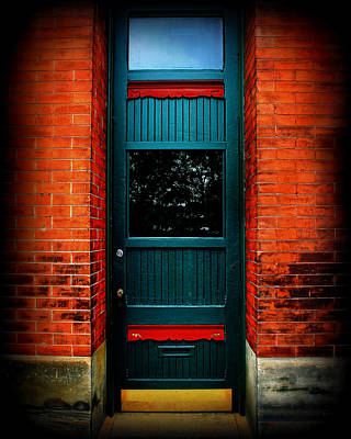 Classic Door Print by Perry Webster