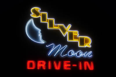 Sign In Florida Photograph - Classic Drive In by David Lee Thompson