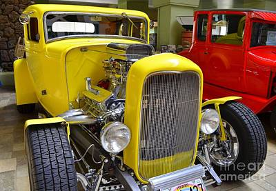 Photograph - Classic Ford Model A In Yellow by Mary Deal