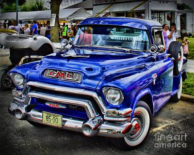 Classic Gmc Print by Perry Webster