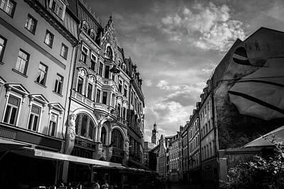 Bnw Photograph - Classic Riga  by Carol Japp