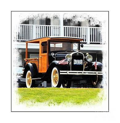Photograph - Classic Woody Truck by Marcia Lee Jones