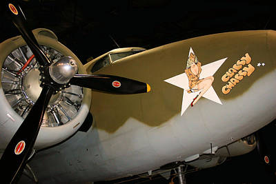 Nose Art Photograph - Classy Chassy by Kristin Elmquist