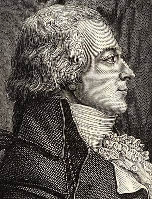 Claude Bazire, 1764-1794,french Lawyer Print by Vintage Design Pics