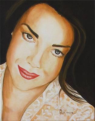 Babylon 5 Painting - Claudia Christian by Al  Molina