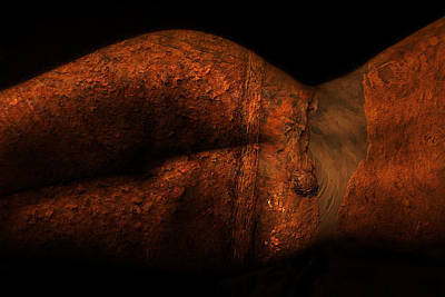 Nudes Photograph - Clay Figure by Naman Imagery