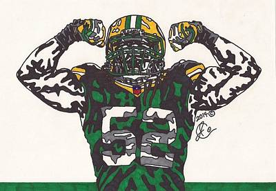 Clay Matthews 3 Original by Jeremiah Colley