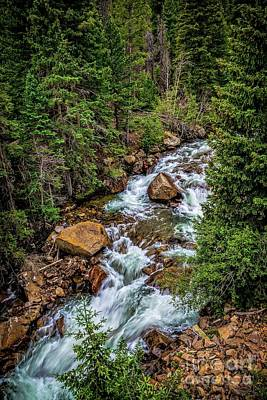 Clear Creek Print by Jon Burch Photography