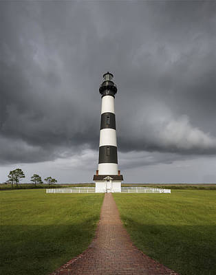 Clearing Storm At The Lighthouse Original by Eduard Moldoveanu