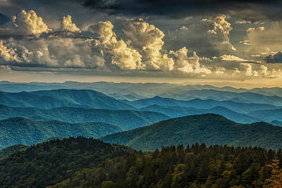 Twilight Views Photograph - Clearing Storm Clouds by Andrew Soundarajan