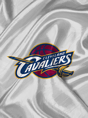 Uniforms Digital Art - Cleveland Cavaliers by Afterdarkness