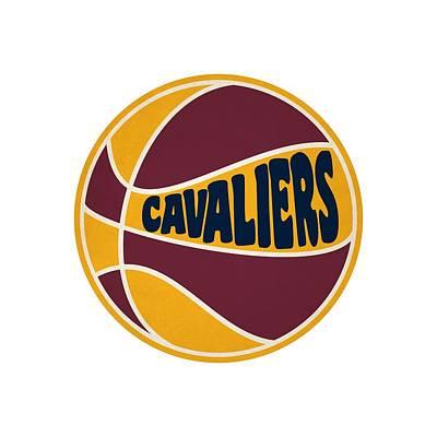 Cleveland Cavaliers Retro Shirt Print by Joe Hamilton