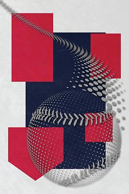 Cleveland Indians Art Print by Joe Hamilton