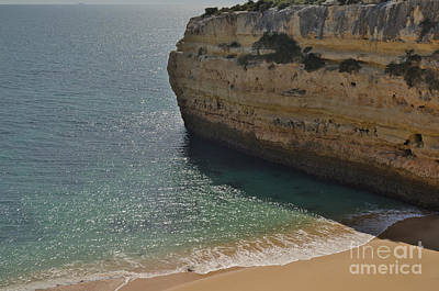 Beach Photograph - Cliff And Beach by Angelo DeVal