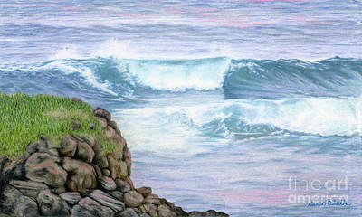 Cliff By The Sea Original by Sarah Batalka