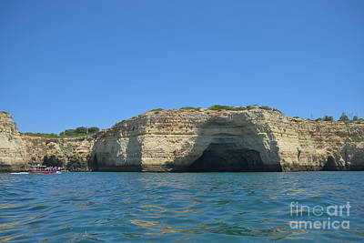 Beach Photograph - Cliff Tour In The Coast Of Carvoeiro 3 by Angelo DeVal