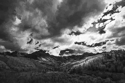 Landscape Digital Art - Climb The Clouds II by Jon Glaser