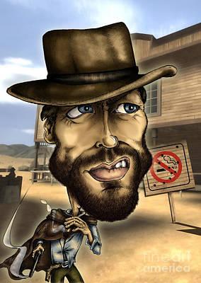 Clint-no Smoking Original by Ivan Sabolic