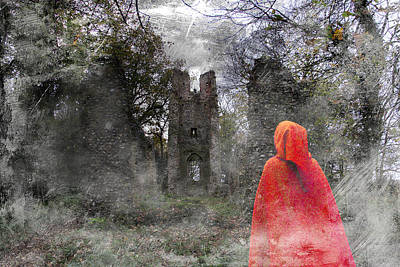 Cloaked Lady And Ghost Original by Martin Fry