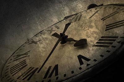 Busy Digital Art - Clock by Svetlana Sewell