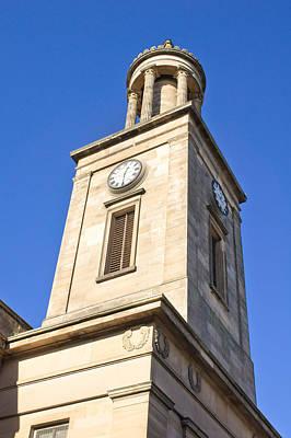 Clock Tower Print by Tom Gowanlock