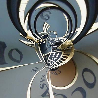 Zodiac Digital Art - Clockface 11 by Philip Openshaw