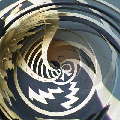 Zodiac Digital Art - Clockface 5 by Philip Openshaw