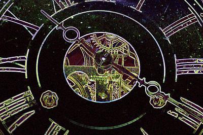 Clockwork Print by Holly Ethan