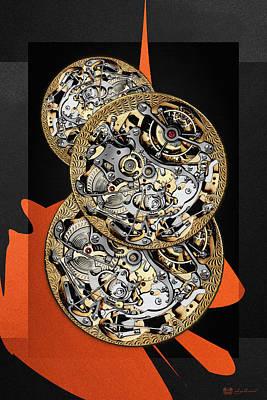 Clockwork Orange Digital Art - Clockwork Orange - 1 Of 4 by Serge Averbukh