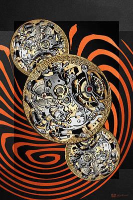 Clockwork Orange Digital Art - Clockwork Orange - 2 Of 4 by Serge Averbukh
