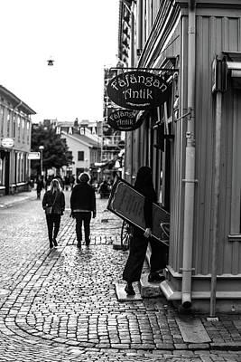 Digital Art - Closing Shop by Toppart Sweden