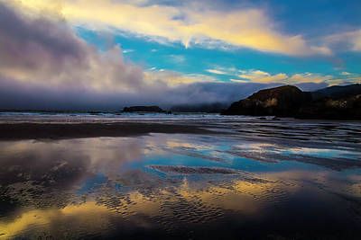 Cloud Reflections Print by Garry Gay
