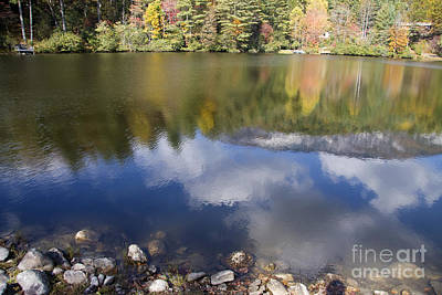 Rural Scenes Photograph - Cloud Reflections by Jill Lang