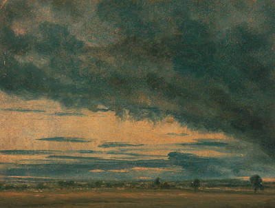 Storm Clouds Painting - Cloud Study by John Constable