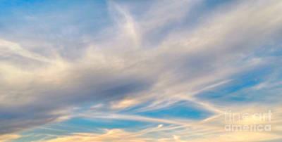 Cloud Wisps Original by Audrey Van Tassell