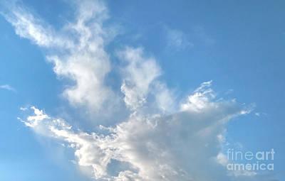 Cloud Wisps Too Original by Audrey Van Tassell